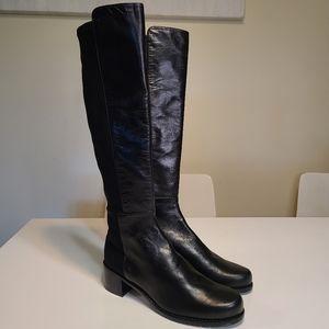 Stuart Weitzman Black Winter Boots Sz 5 [U39K]